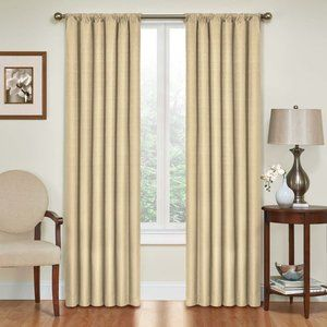 Window Curtain Panel Eclipse Kendall Thermaback 84
